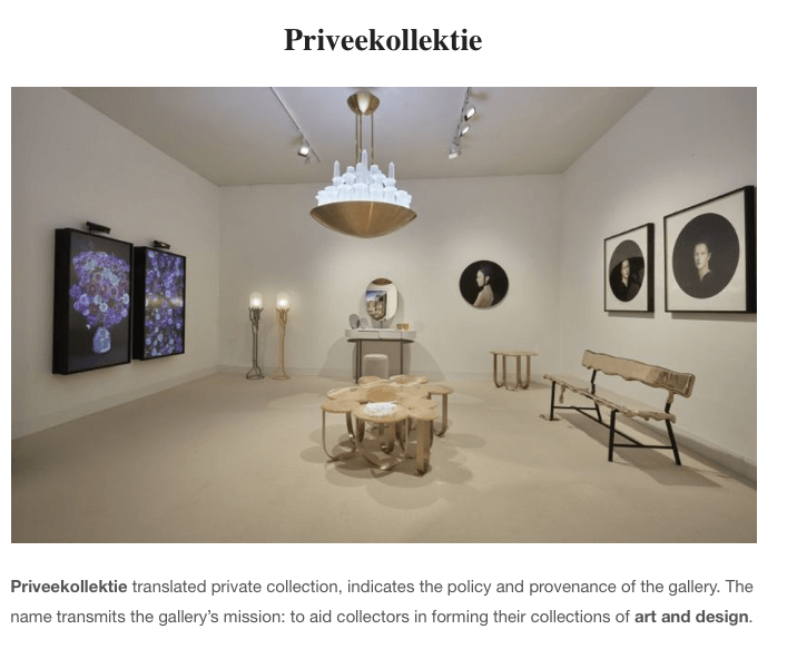 Priveekollektie - The Best Art Galleries all around the world